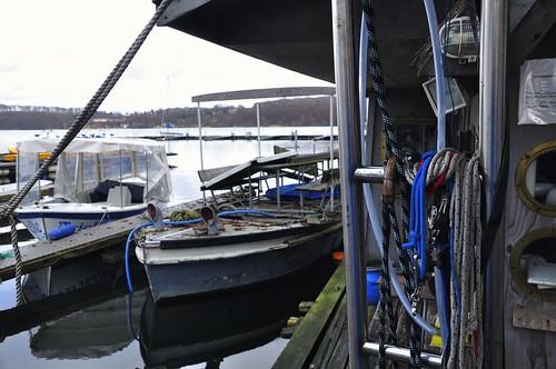 Boote im Hafen von Ratzeburg