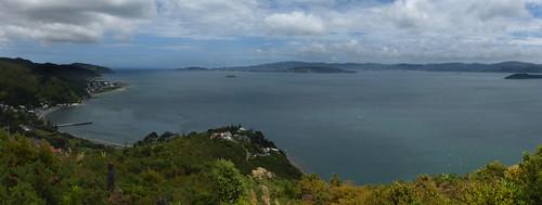 Days Bay panorama