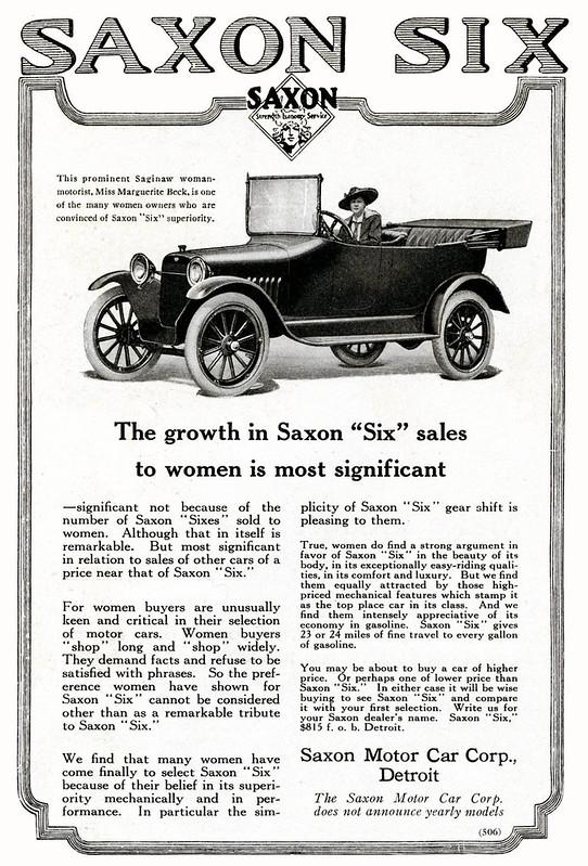 """1916 Saxon """"Six"""""""