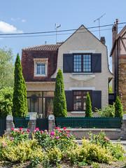 Petite maison aux inspirations anglaises