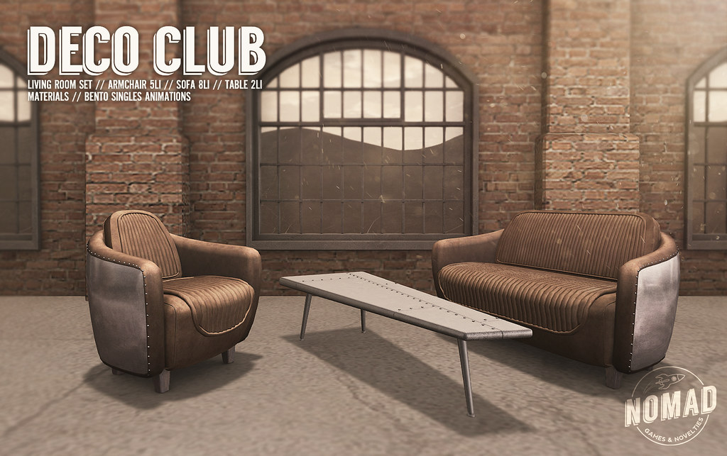 NOMAD // Deco Club Living Room