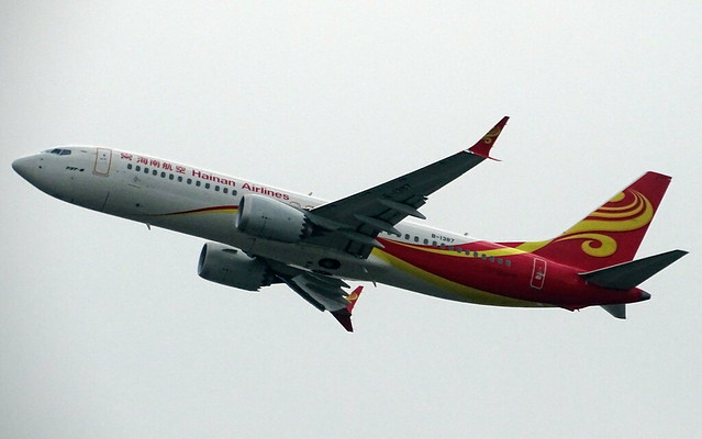 Hainan Airlines Boeing 737 MAX-8 B-1387