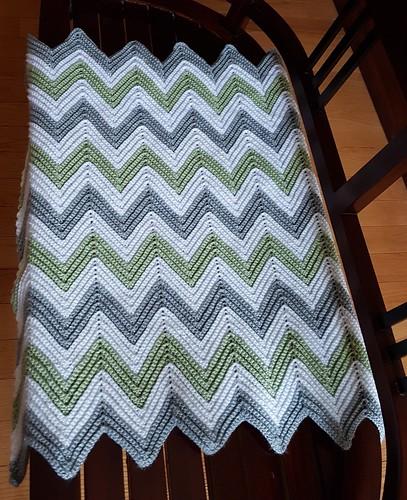 Ava's baby blanket