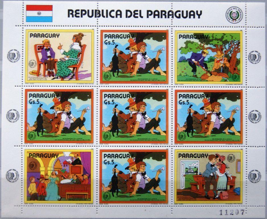 Paraguay - Scott #2148 (1985)