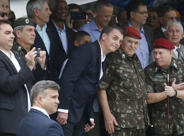 Militares foram excluídos da proposta de reforma da Previdência de Bolsonaro - Créditos: Fernando Frazão/Agência Brasil