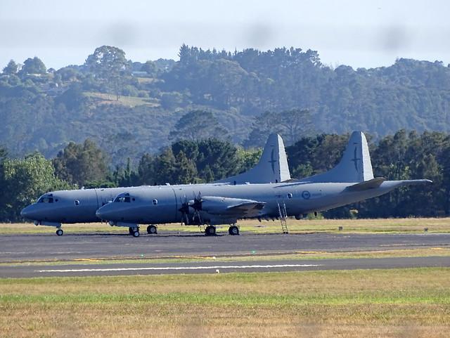 RNZAF Lockheed P3 Orions