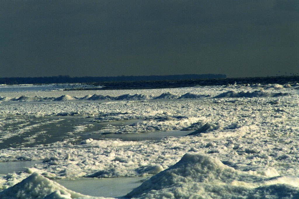 Lake Erie Ice 1 | Ice build-up on the West end of Lake Erie