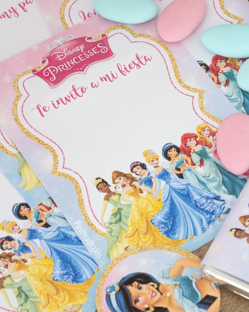 Princesas disney fiesta
