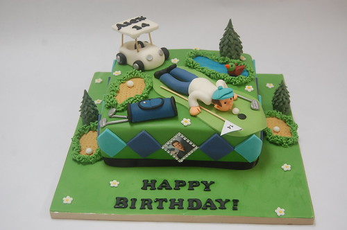 Super Golf Cakes Beautiful Birthday Cakes Funny Birthday Cards Online Aeocydamsfinfo