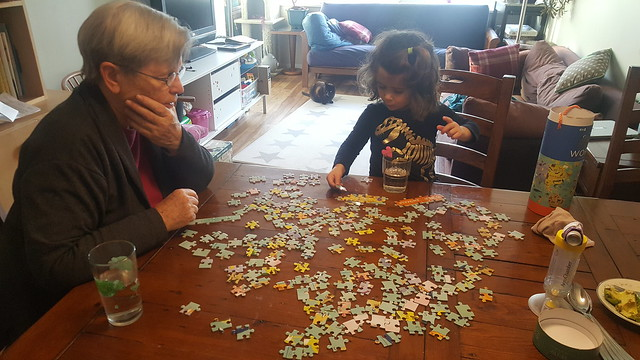 Puzzle with Grammy