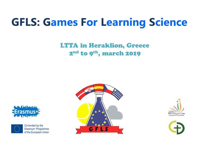 Erasmus+ (GFLS): LTTA Heraklion