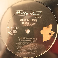 VIRGIE WILLIAMS:TOUCH & GO(LABEL SIDE-A)
