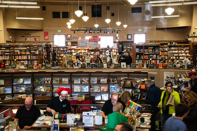 Christmas Eve at the Tattered Cover