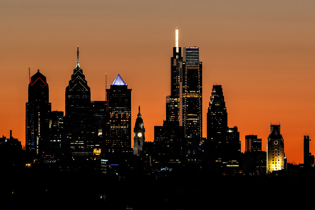 Phillytown Silhouette