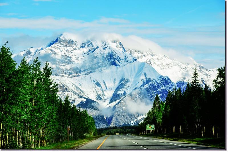 一號公路(Trans-Canada HwyAB-1)沿途雪景 2