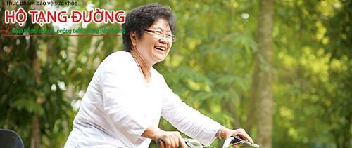 Kiên trì sử dụng tpcn Hộ Tạng Đường giúp tăng hiệu quả điều trị tiểu đường.