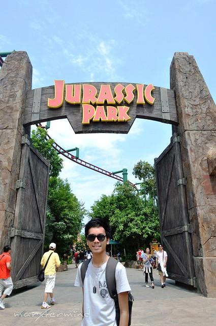 Jurassic Park at Universal Studios Singapore