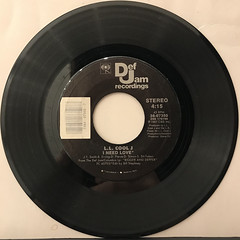 L.L. COOL J:I NEED LOVE(RECORD SIDE-A)