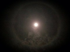 Moon Halo I captured tonight.