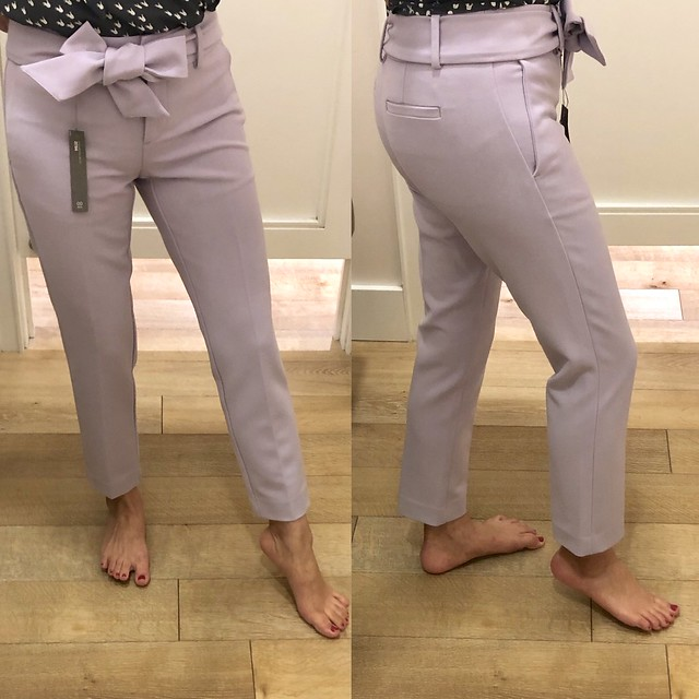 LOFT Slim Tie Waist Pencil Pants in Marisa Fit, size 00P