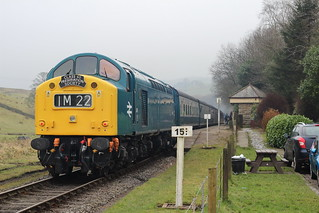 Class 40 at the ELR