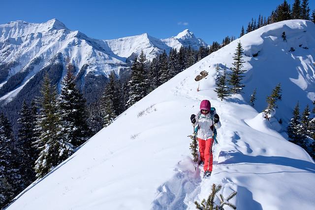 Snowshoeing - Gypsum Ridge - Feb 2019-15