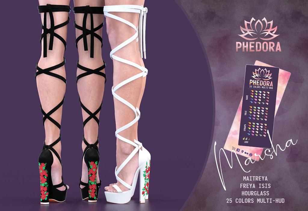 "Phedora. for Collabor88 ~ ""Marsha"" gladiator heels♥"