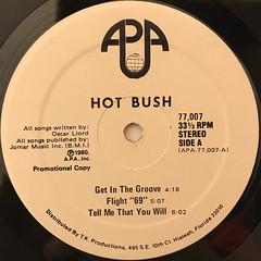 HOT BUSH:HOT BUSH(LABEL SIDE-A)