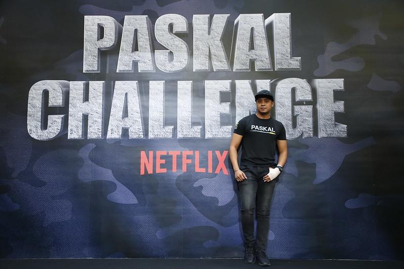 PASKAL star Taufiq Hanafi at the Netflix #PaskalChallenge event in Sunway Pyramid