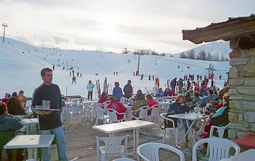 France, restaurant Bar d'altitude de la Sétaz de Valloire-Galibier