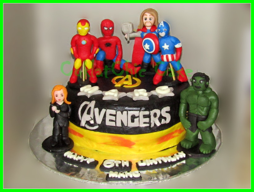 Cake The Avengers Marc 20 cm