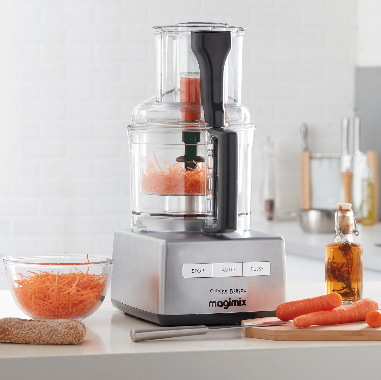 【magimix】可在3秒切小黃瓜片、15秒完成600g絞肉、30秒切大量蔬菜
