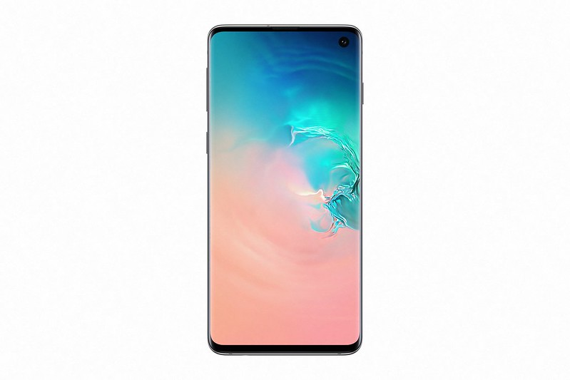 Samsung Galaxy S10 - Prism White - Front