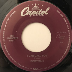 PORTRAIT:I CAN CALL YOU(LABEL SIDE-A)
