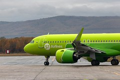 Airbus A320neo VQ-BCR S7 Airlines