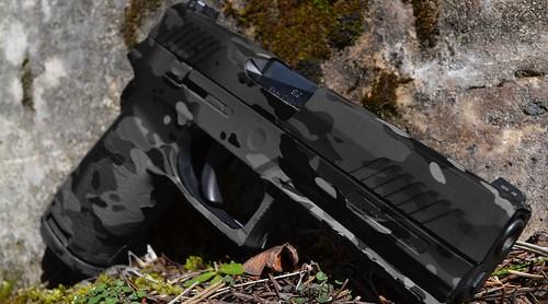 Pistol Skin (Military OCP Black)
