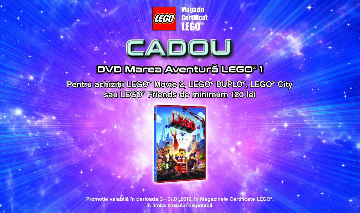 Promo DVD Marea Aventura LEGO 1