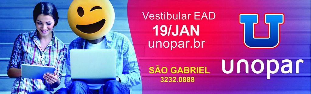 19 de janeiro, Vestibular Unopar 2019. Inscreva-se!