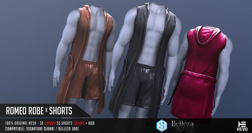 HEVO – Romeo Robe x Shorts @ C88