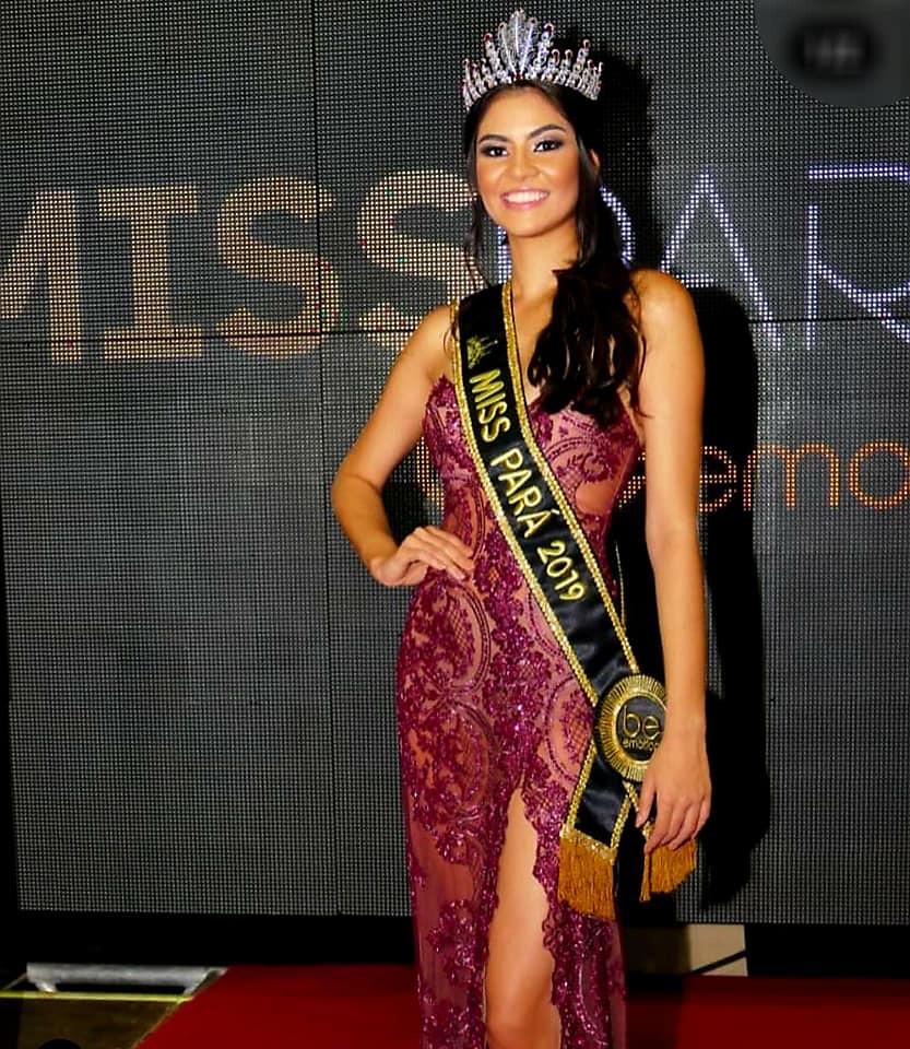Wilma Paulino, Miss Itaituba, é eleita Miss Pará 2019; Miss Trairão fica em 2º , Miss Pará 2019