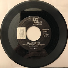 BEASTIE BOYS:HOLD IT, NOW HIT IT(RECORD SIDE-B)
