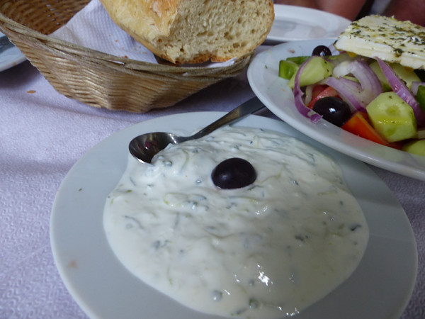 tzatziki au Pirée