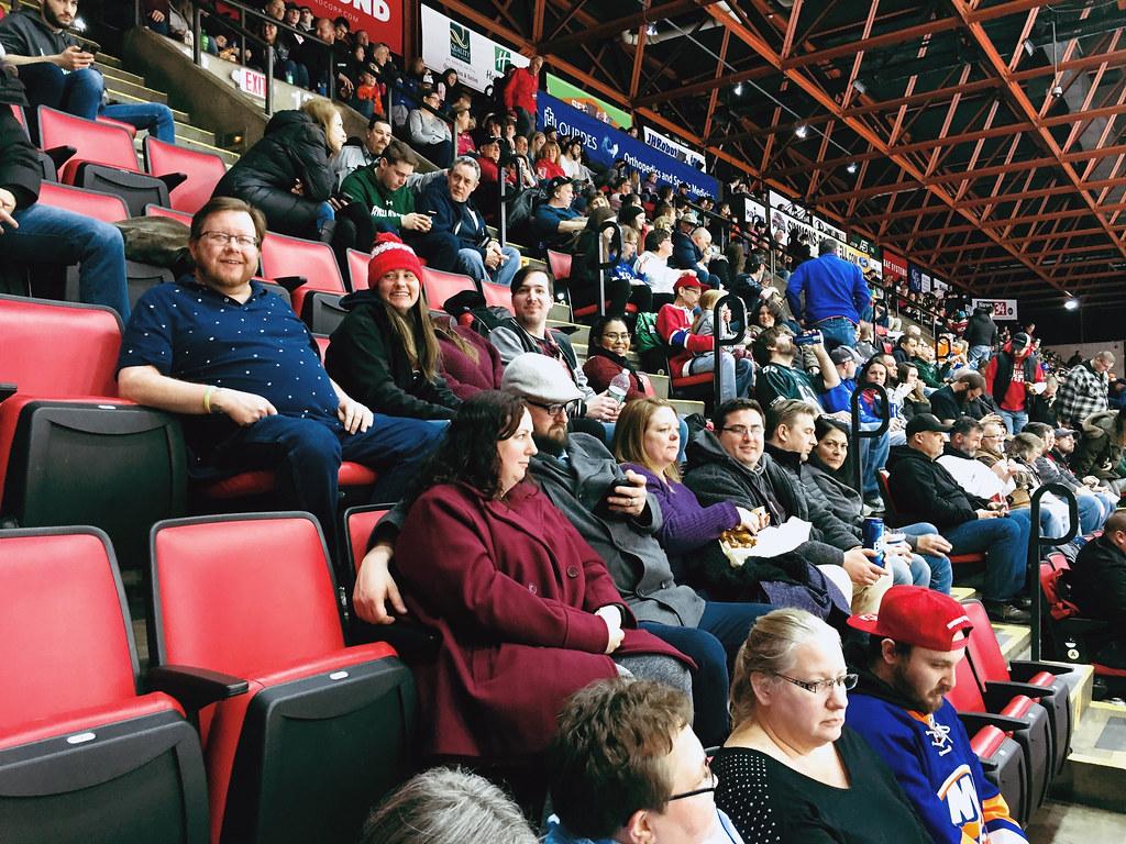 SUNY Broome Alumni @ Binghamton Devils Hockey - 2/16/19
