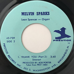 MELVIN SPARKS:THANK YOU(LABEL SIDE-B)