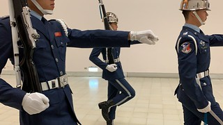 台湾旅行 衛兵交代式