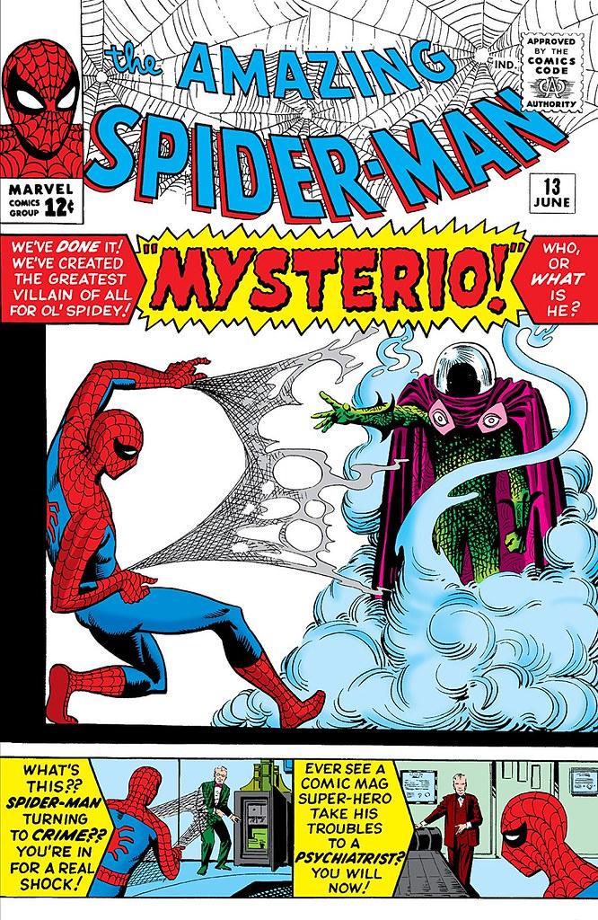 《蜘蛛人:離家日》裡的「神秘客」究竟什麼來頭?! 神秘客原作起源故事揭露