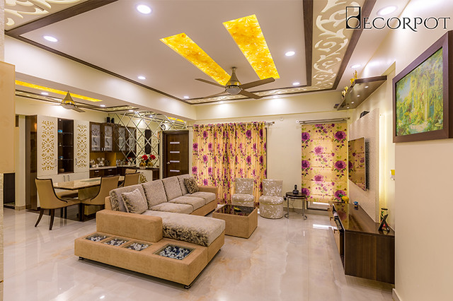 Living room interior design firms in hsr layout Bangalore