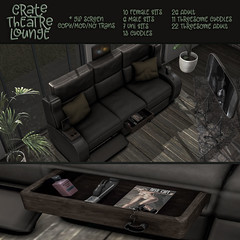 crate ~ Theatre Lounge Set for X by FaMESHeD