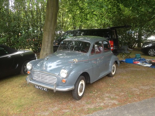 Morris Minor from 1959.