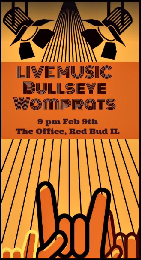 Bullseye Womprats 2-9-19